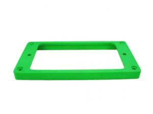 Ramka humbuckera płaska, skośna 7/9mm green fluorescent