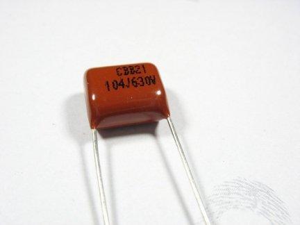 Kondensator foliowy metalizowany 100nF 630V 3szt.