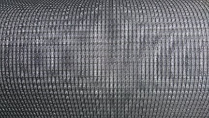 Grill cloth Fender BLACK/SILVER  (80x75)