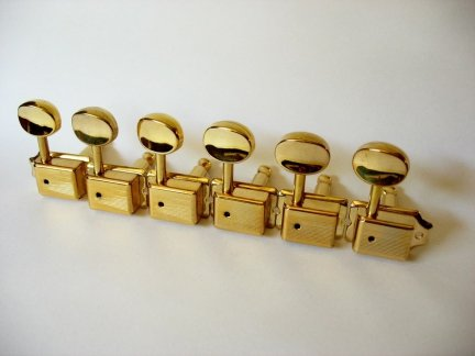 Klucz gitarowy J55 typ Kluson Vintage GOLD 1szt.