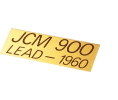 Logo Marshall JCM900 ORYGINAŁ