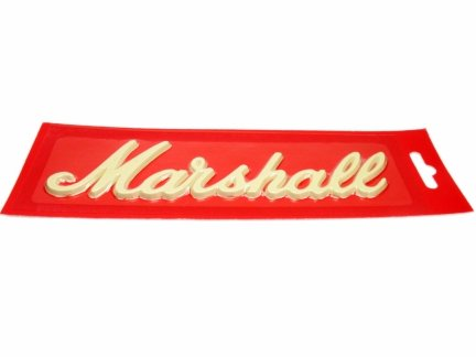 Logo Marshall 6 cali White