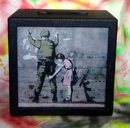 Obudowa Kolumny 1x12  STREET ART BLACK NO:05