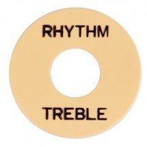 Płytka Rhythm/Treble Typ GIBSON Ivory Black
