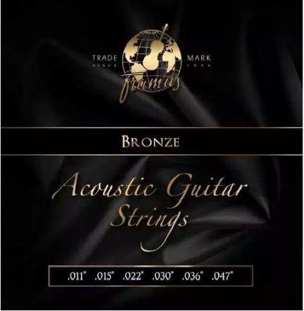 Struny FRAMUS 11-47 Acoustic BRONZE Light