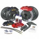 Zestaw hamulcowy AP Racing SUBARU IMPREZA STI 2001-2007 (tył 4tłoczkowy)