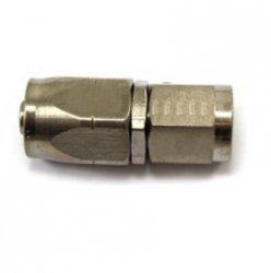 Złączka żeńska prosta Aeroquip -8JIC niklowana