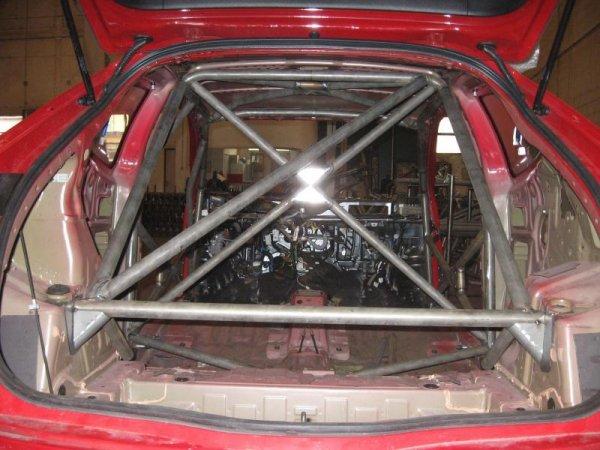 Wielopunktowa klatka bezpieczeństwa OMP Honda Civic Type R 09.00-06