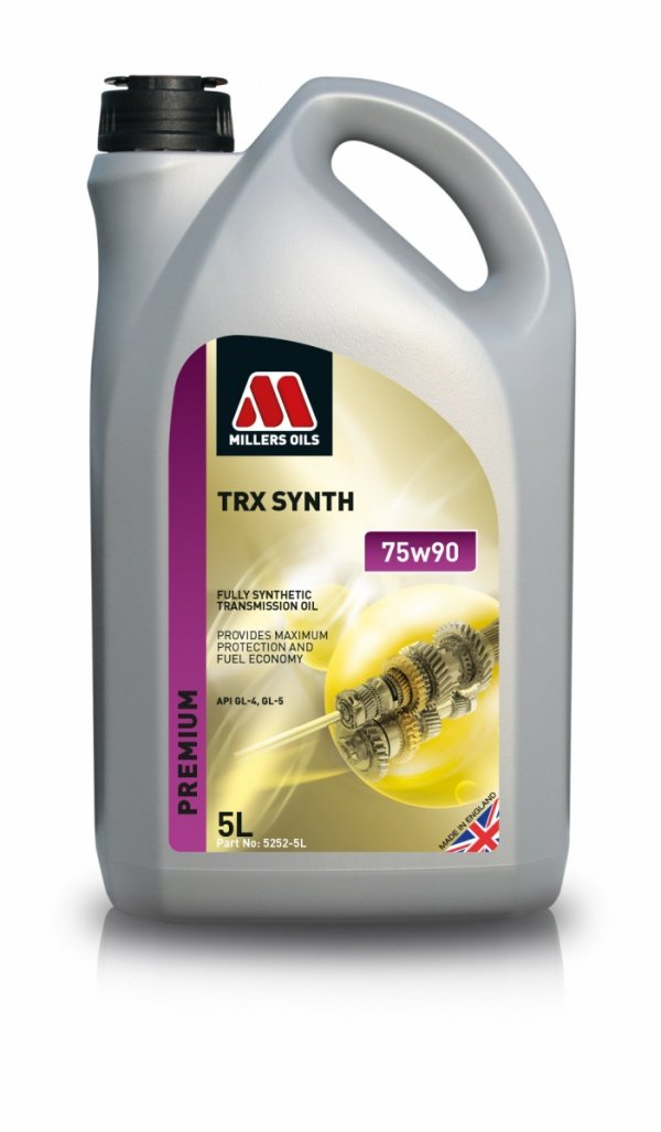 Olej przekładniowy Millers Oils TRX Synth 75W90 5l
