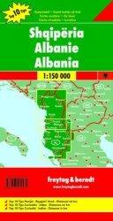 ALBANIA MAPA 1:150 000