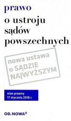 PRAWO O USTROJU SĄDÓW POWSZECHNYCH 01.2018