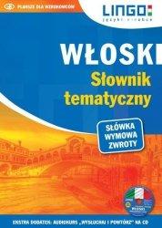 WŁOSKI SŁOWNIK TEMATYCZNY KSIĄŻKA + CD