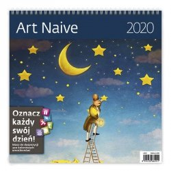 KALENDARZ 2020 ART NAIVE 30X30