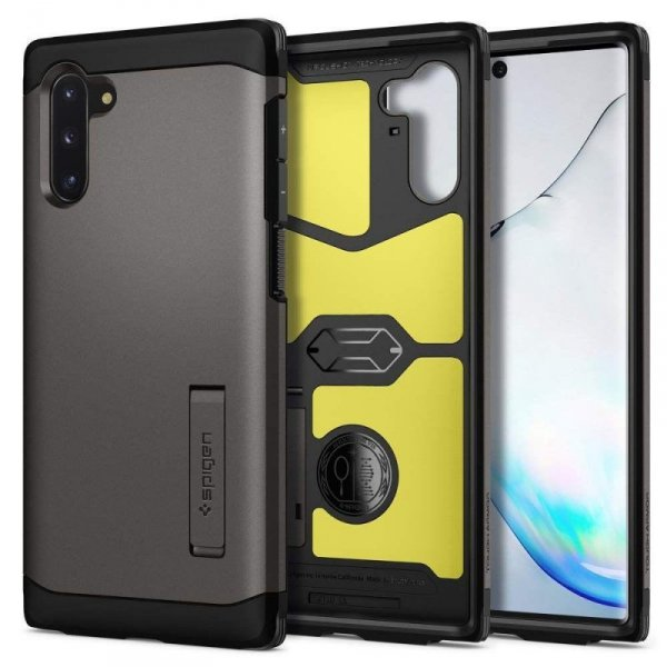 Etui Spigen Tough Armor Galaxy Note 10 Gunmetal