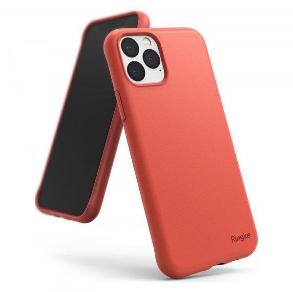 Ringke Air S ultracienkie żelowe etui pokrowiec iPhone 11 Pro koralowy (ADAP0009)