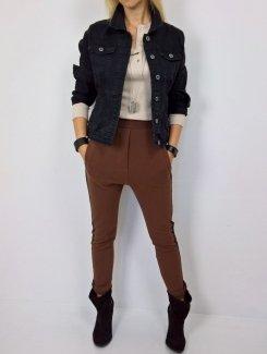 Spodnie Dresowe Baggy By o la la