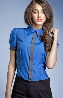 Koszula Model K33 Niebieski