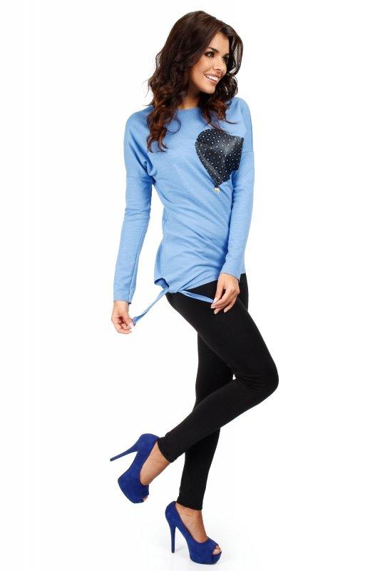 Bluza MOE048 Blue