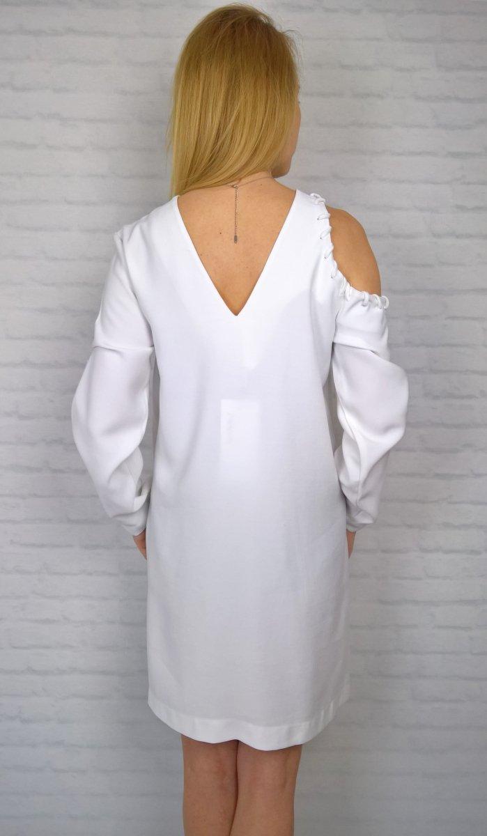 Sukienka Odkryte Ramię By o la la