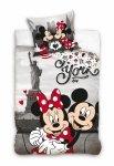 Pościel Młodzieżowa Myszka Minnie i Mickey Mouse 140x200