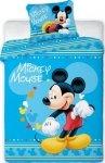 Pościel dla dzieci Disney 100x135 Myszka Mickey100% bawełna Faro Mickey Mouse 033