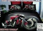 Pościel 3D Motor Chopper Cotton World 100% mikrowłókno wz. Motor 05