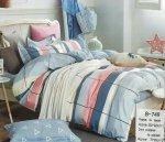 Pościel Mengtianzi Kolorowa 200x220 100% bawełna B-749