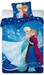 Różowa pośćiel Kraina Lodu Frozen 140x200 Anna i Elsa  Detexpol 100% bawełna FRO 001