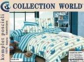 Pościel dla dzieci Collection World z Morzem 160x200 100% bawełna wz 470 Morze