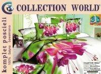 Pościel 3D Kwiaty 160x200 Collection World 100% bawełna wz 267