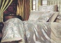 Ekskluzywny komplet pościeli Collection World 160x200 cm Beżowa- Żakardowa pościel 160x200 wz 84