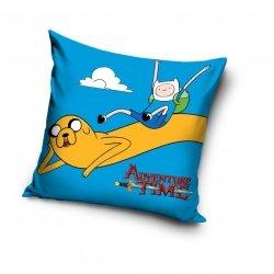 Poszewka Czas na Przygodę 40x40 cm Carbotex 100% bawełna. Poszewka dla dzieci Adventure Time