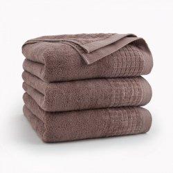 Ręcznik kąpielowy 70x140 Cynamonowy Paulo - Zwoltex