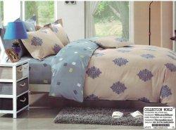 Pościel Collection World 160x200 Szaro - Niebieska 100% bawełna wz 1075