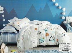 Pościel Collection World 140x200 Popielata 100% bawełna wz 1026
