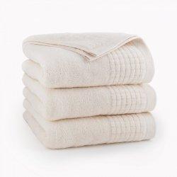 Ręcznik kąpielowy 50x90 Ecru Paulo - Zwoltex