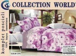 Pościel Collection World 200x220 Różowe Kwiaty wz 375