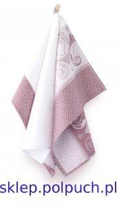 Ściereczka kuchenna Zwoltex Ankara Różowy - 50x70 cm - bawełna egipska.