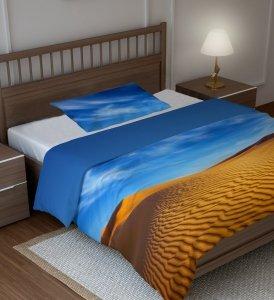 Pościel Młodzieżowa 3D Pustynia 160x200 100% bawełna Faro