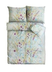 Ekskluzywna pościel satynowa Andropol 160x200 cm 100% bawełna wz. 18608/2 . Pościelw Kwiaty 160x200