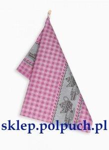 Ściereczka kuchenna Zwoltex Czapla - Podwieczorek Aramantowa - 50x70 cm 100% bawełna