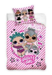 Pościel LOL Suprise 160x200 Różowa dla dziewczynki Carbotex LOL 1950011
