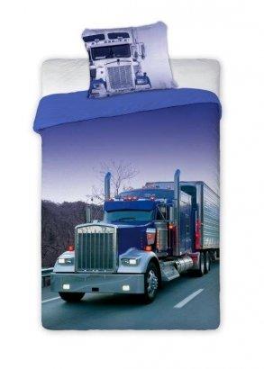 Pościel młodzieżowa Ciężarówka - TIR 160x200 Faro 100% bawełna wz Turbo 002