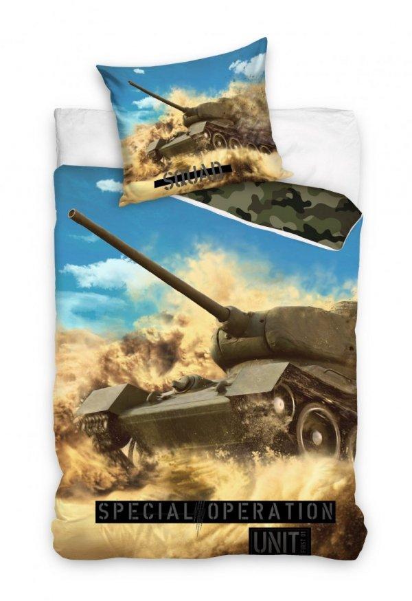 Pościel wojskowa - czołg T-34-85 140x200.