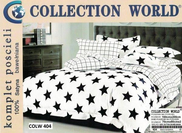 Biała pościel Collection World 160x200 100% bawełna