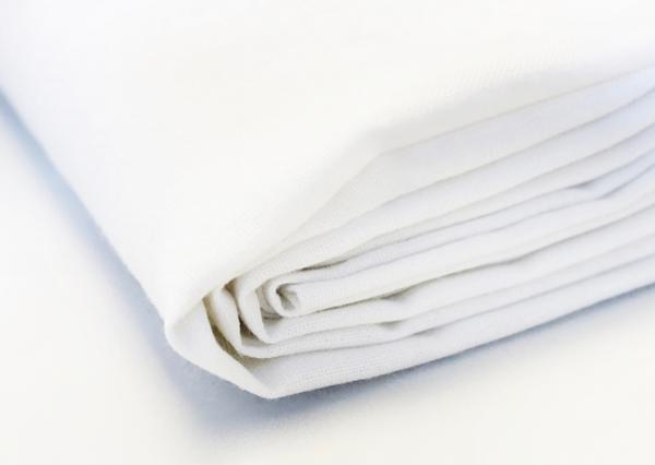 Białe bawełniane prześcieradło 160x210 cm - Polpuch Tekstylia dla domu