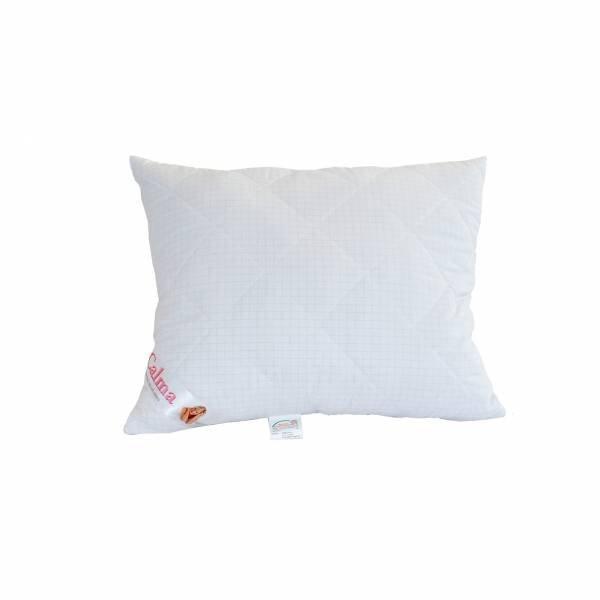 Antyalergiczna poduszka pikowana 50x60 cm z zamkiem Calma Poldaun