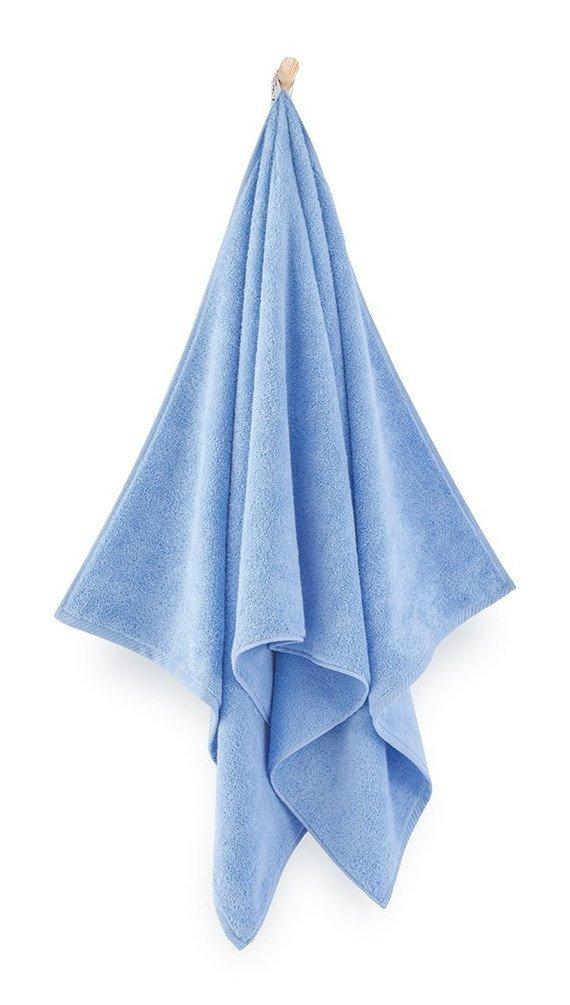 Ręcznik z bawełny egipskiej Zwoltex Kiwi 2 50x100 cm Niebieski
