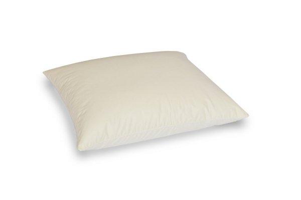 Poduszka z półpuchu 40x40cm Ecru gładka