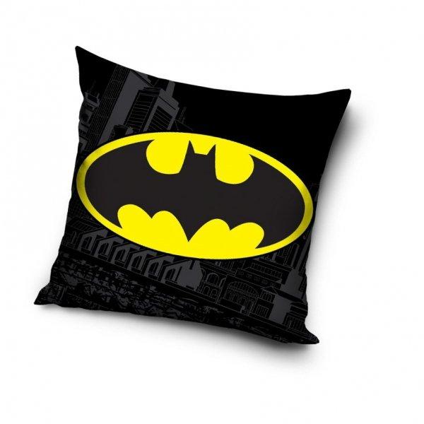 Czarna poszewka Batman 40x40 cm
